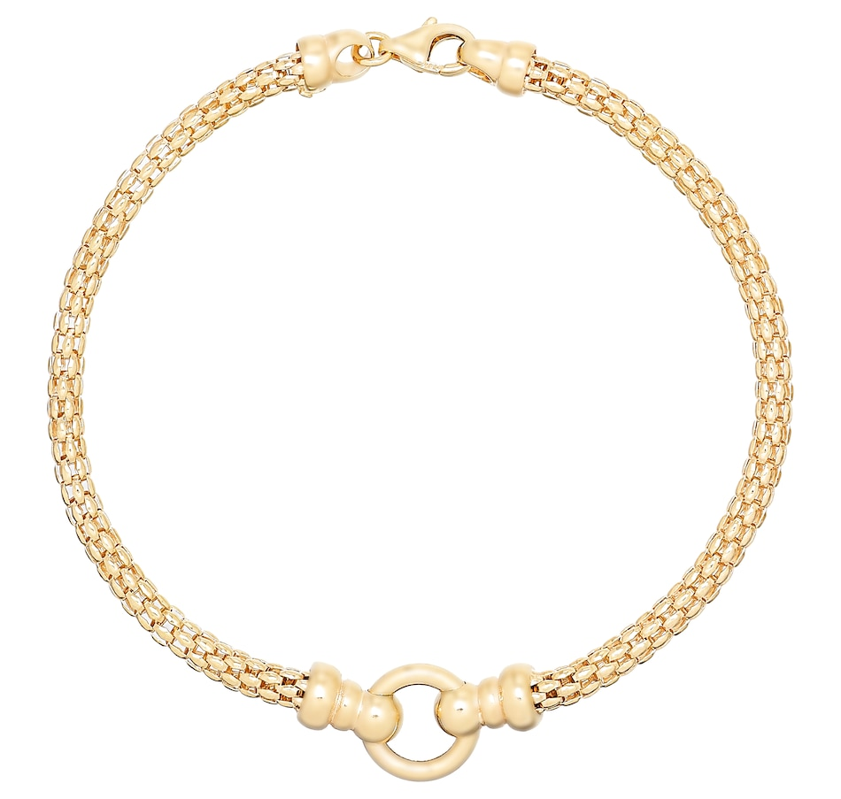 Image 487419.jpg , Product 487-419 / Price $1,299.99 , UNOAERRE 18K Yellow Gold Rope Chain Bracelet from UnoAErre Jewellery on TSC.ca's Jewellery department