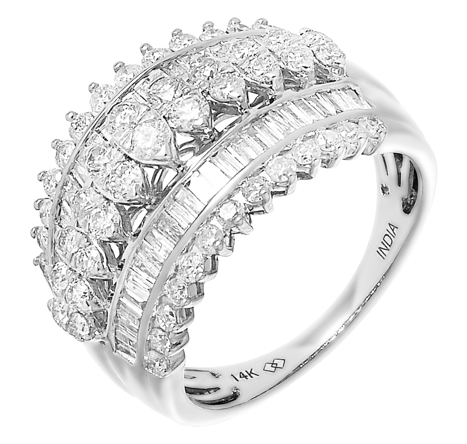 Image 487883_WGL.jpg , Product 487-883 / Price $2,399.99 , 14K Gold 1.50ctw Diamond Ring from Diamond Show on TSC.ca's Jewellery department