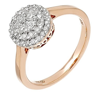 14K Gold 0.52ctw Empress Collection Ring