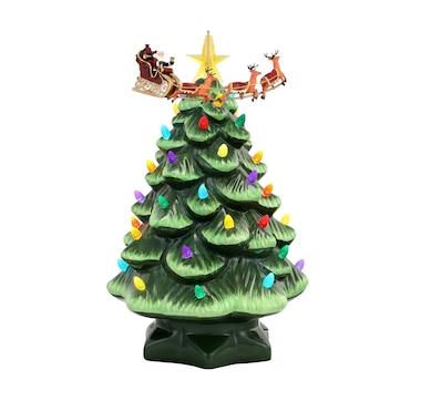 "Mr. Christmas 14"" Animated Nostalgic Christmas Tree"