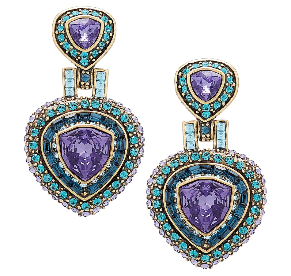 Image 488675_TAN.jpg , Product 488-675 / Price $89.95 , Heidi Daus One in a Trillion Earrings from Heidi Daus on TSC.ca's Jewellery department