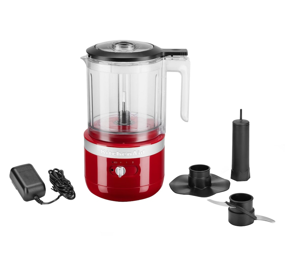 Image 489029_EMRD.jpg , Product 489-029 / Price $179.99 , KitchenAid Cordless 5-Cup Food Chopper from KitchenAid on TSC.ca's Kitchen department