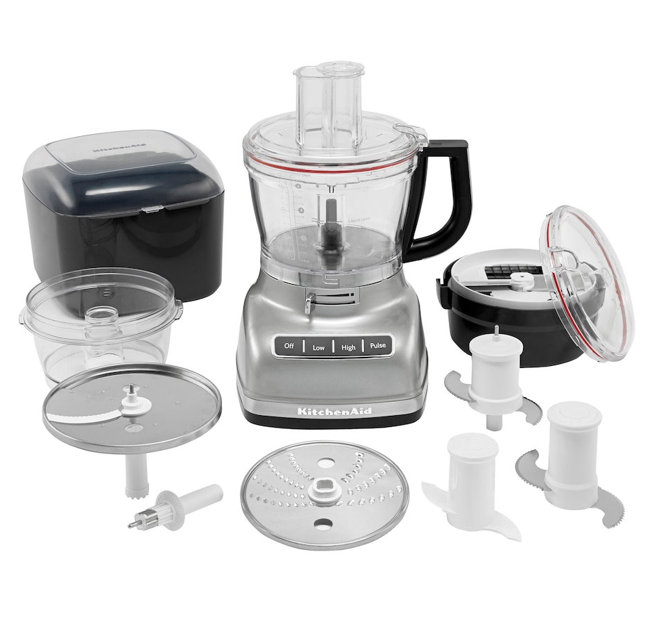 Image 489031_CRSR.jpg , Product 489-031 / Price $279.99 , KitchenAid 14-Cup Food Processor with Commercial-Style Dicing Kit from KitchenAid on TSC.ca's Kitchen department