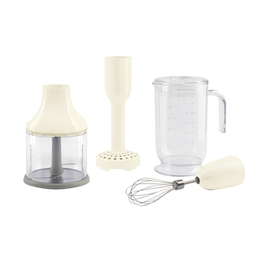 SMEG 4-Piece Accessory Set for 50's Retro Style Hand Blender