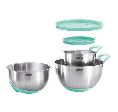 Dash Stainless Steel Mixing Bowl Set
