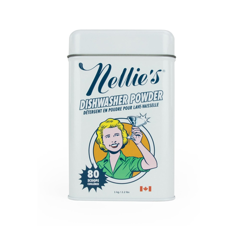 Image 489542.jpg , Product 489-542 / Price $22.00 , Nellie's Dishwasher Powder Tin from Nellie's Laundry on TSC.ca's Home & Garden department