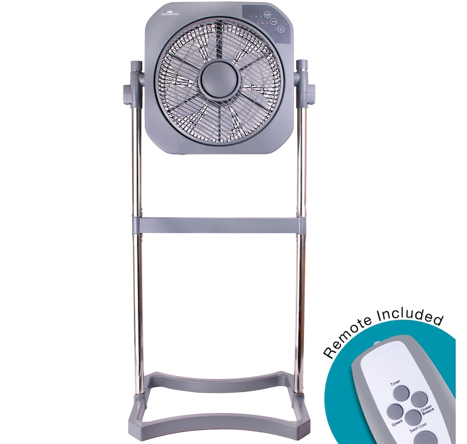 Image 489548_PLA.jpg , Product 489-548 / Price $109.99 , Air Innovations Swirl Cool Stand Fan with Remote from Air Innovations on TSC.ca's Home & Garden department