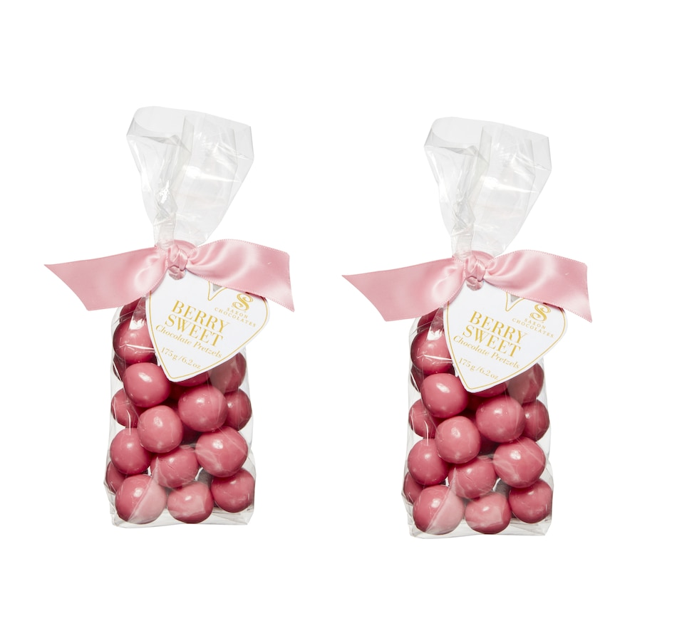 Image 490187.jpg , Product 490-187 / Price $24.99 , Saxon Chocolates Berry Sweets Enrobed Pretzels Bag (Set of 2) from Saxon Chocolates on TSC.ca's Kitchen department
