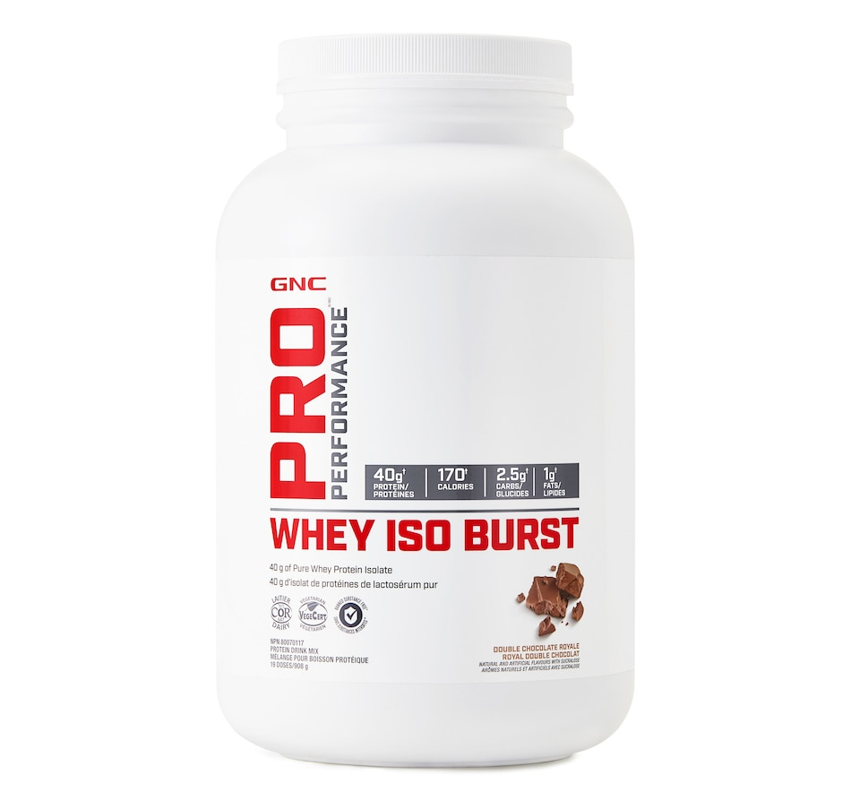 Image 490614_DBCHR.jpg , Product 490-614 / Price $44.99 , GNC Pro Performance Whey ISO Burst Protein Drink from GNC on TSC.ca's Health & Fitness department