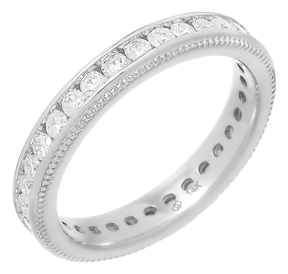 Image 491745_WGL.jpg , Product 491-745 / Price $1,399.99 , Diamond Show 14K Gold 1.00CTW Channel Set Diamond Eternity Band from Diamond Show on TSC.ca's Jewellery department