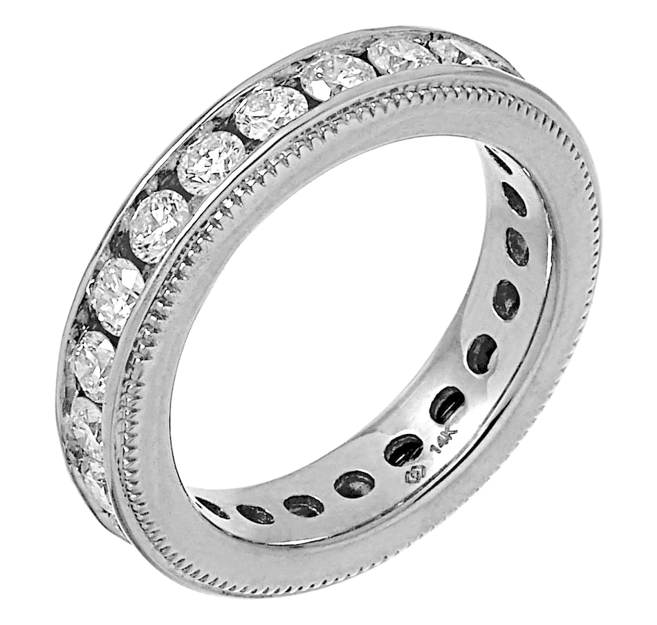 Image 491746_WGL.jpg , Product 491-746 / Price $2,649.99 , Diamond Show 14K Gold 2.00CTW Channel Set Diamond Eternity Band from Diamond Show on TSC.ca's Jewellery department