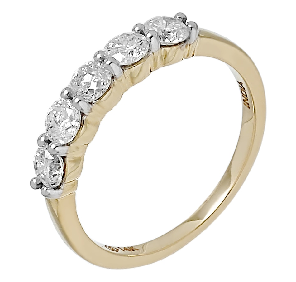 Image 491749_YGL.jpg , Product 491-749 / Price $1,599.99 , Diamond Show 14K Gold Diamond Anniversary Band from Diamond Show on TSC.ca's Jewellery department