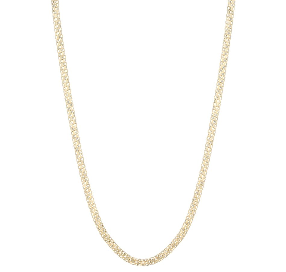 Image 491751_YGL.jpg , Product 491-751 / Price $499.99 , Stefano Oro 14K Yellow Gold Velvet Bismark Necklace from Stefano Oro on TSC.ca's Jewellery department