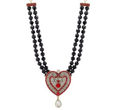 "Heidi Daus ""Capture My Heart"" Necklace"