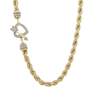 "Heidi Daus ""Love Heidi Style"" Metal Chain Necklace"