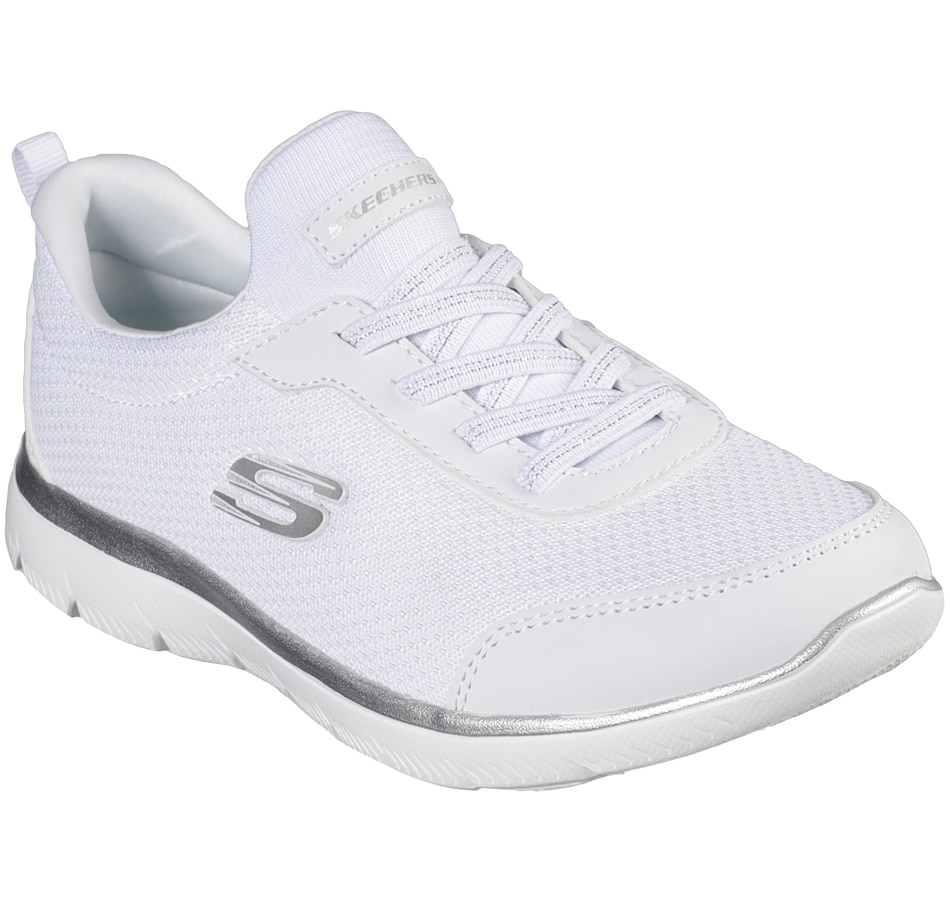 Image 492165_WHT.jpg , Product 492-165 / Price $54.99 , Skechers Summits Simple Light Bungee Sneaker from Skechers Footwear on TSC.ca's Shoes & Handbags department