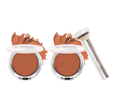IT Cosmetics Celebration Foundation Illumination Duo with Brush
