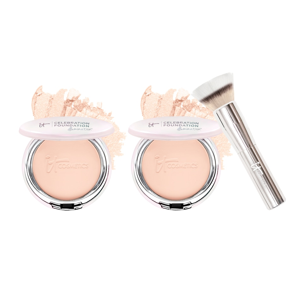 Image 493221_FIY.jpg , Product 493-221 / Price $107.00 , IT Cosmetics It's Your Illuminating Skin! 3-Piece Collection from Brushes & Tools on TSC.ca's Beauty department