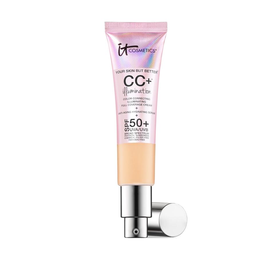 Image 494016_LHT.jpg , Product 494-016 / Price $52.00 , IT Cosmetics CC+ Illumination Cream SPF 50+ from It Cosmetics on TSC.ca's Beauty department