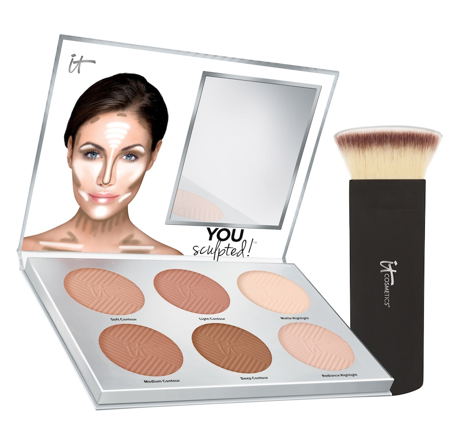 Image 495031.jpg , Product 495-031 / Price $56.00 , It Cosmetics You Sculpted Palette With Brush from It Cosmetics on TSC.ca's Beauty department