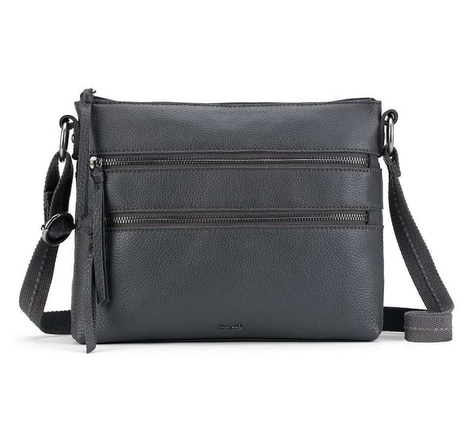 Image 496916_SLAT.jpg , Product 496-916 / Price $149.99 , The Sak Reseda Leather Crossbody from The SAK Handbags on TSC.ca's Shoes & Handbags department