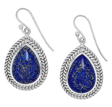 19545faba Product 497-037 / Price $114.99 , Himalayan Gems Sterling Silver Gemstone  Drop Earrings From