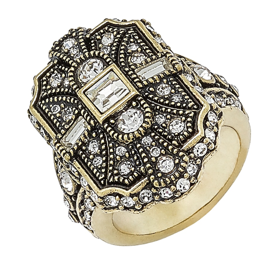 Image 497055_CLR.jpg , Product 497-055 / Price $39.33 , Heidi Daus The Deco Trilogy Ring from Heidi Daus on TSC.ca's Jewellery department
