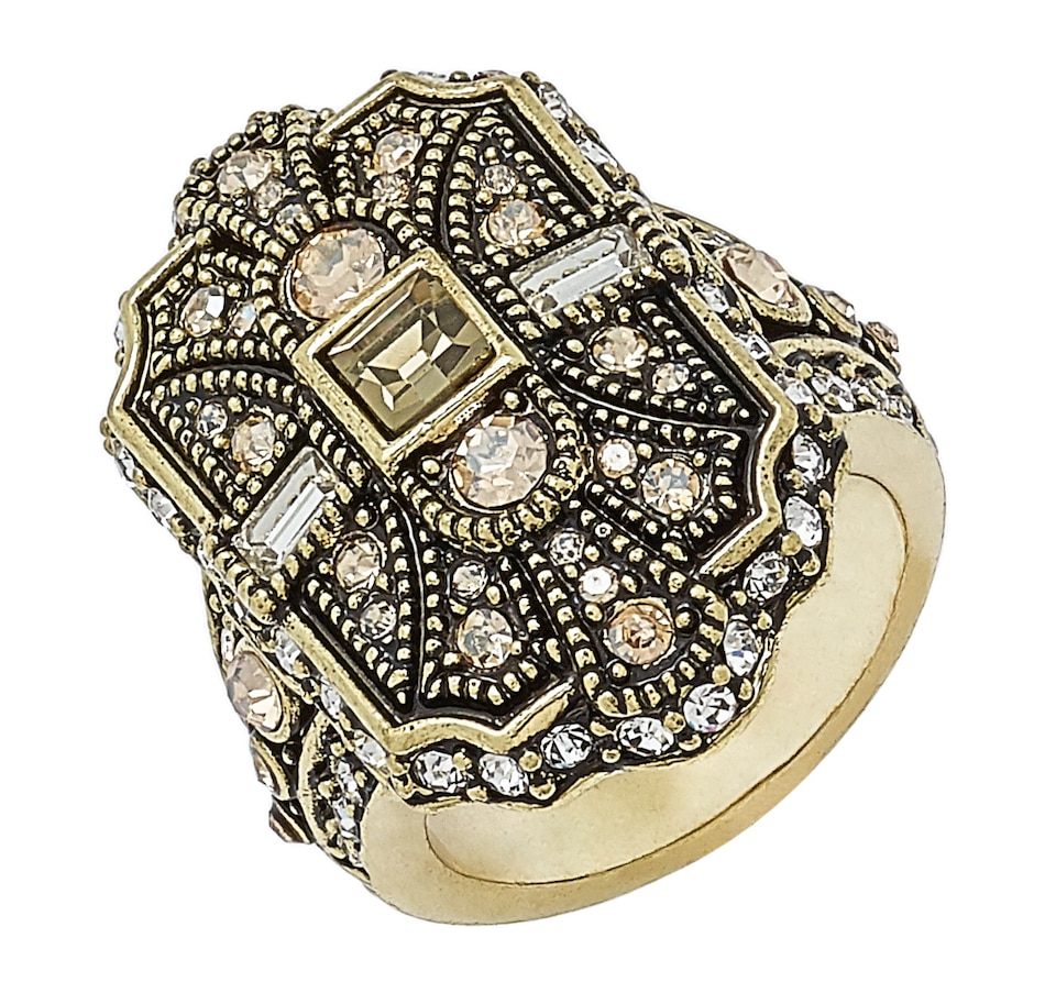 Image 497055_SMOD.jpg , Product 497-055 / Price $27.33 , Heidi Daus The Deco Trilogy Ring from Heidi Daus on TSC.ca's Jewellery department