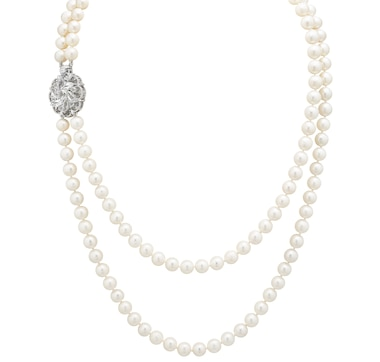 Imperial Pearls Sterling Silver 7.5-8.5 mm Cultured Freshwater Pearl Layered Necklace