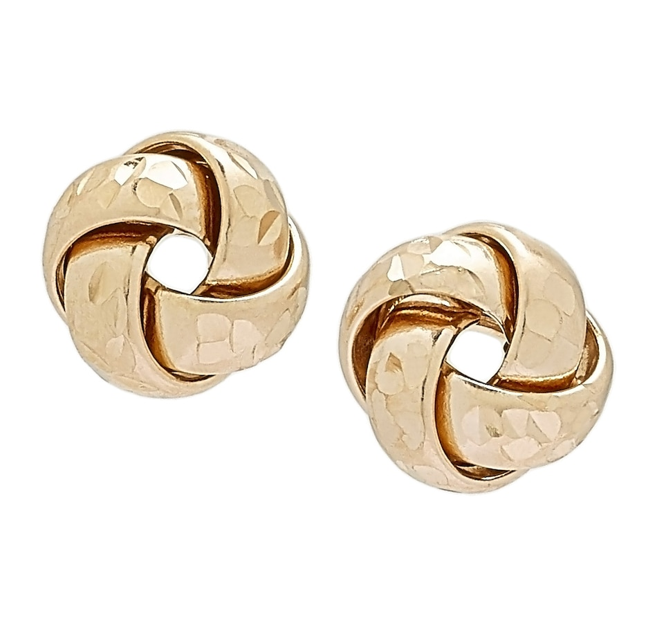 Image 497610_YGL.jpg , Product 497-610 / Price $149.99 , International Gold 10K Gold Love Knot Stud Earrings from International Gold on TSC.ca's Jewellery department