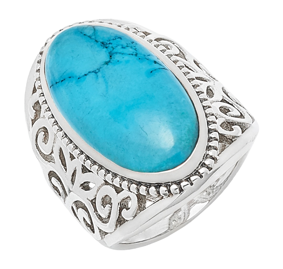 Image 497806_MAGNS.jpg , Product 497-806 / Price $79.88 , Himalayan Gems Sterling Silver Gemstone Ring from Himalayan Gems on TSC.ca's Jewellery department