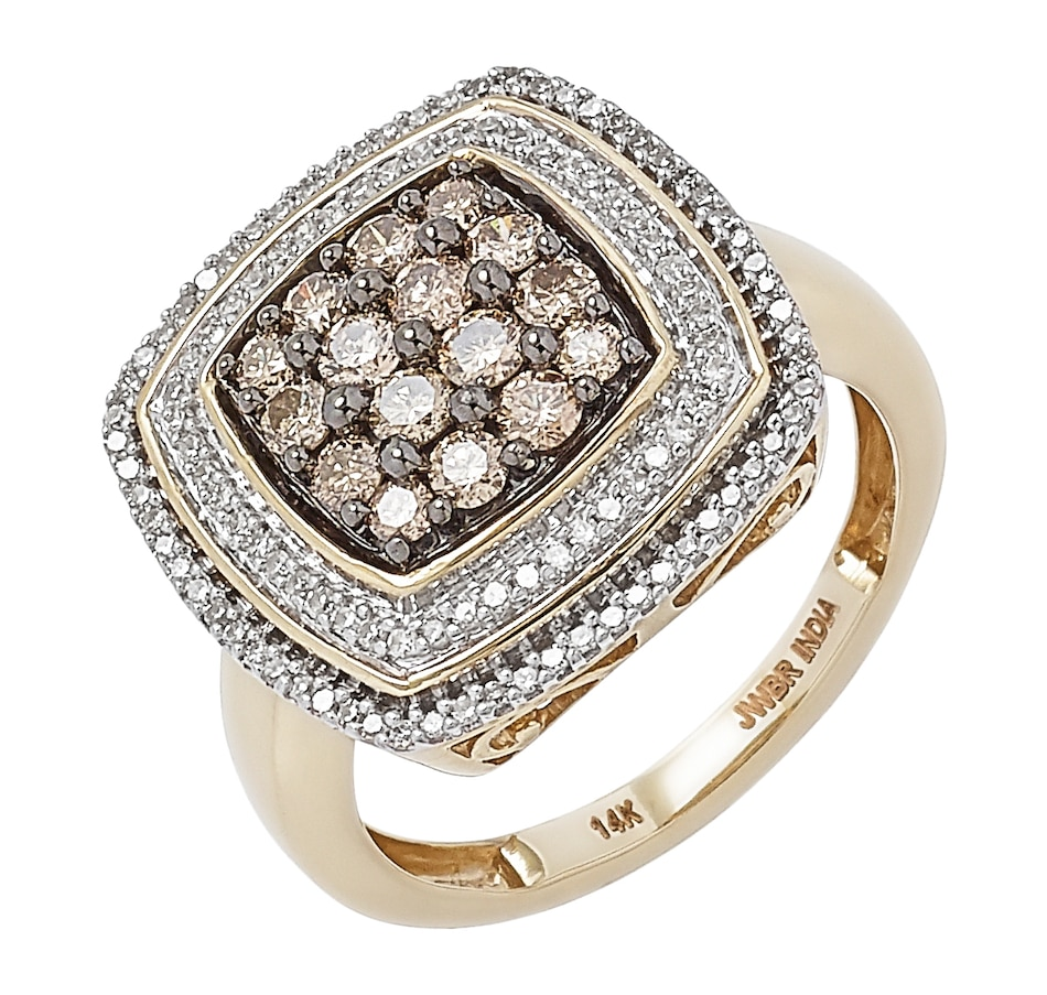 Image 497865_CUSHION.jpg , Product 497-865 / Price $1,299.99 , 14K Yellow Gold 1.00 ctw Diamond Ring from Diamond Show on TSC.ca's Jewellery department