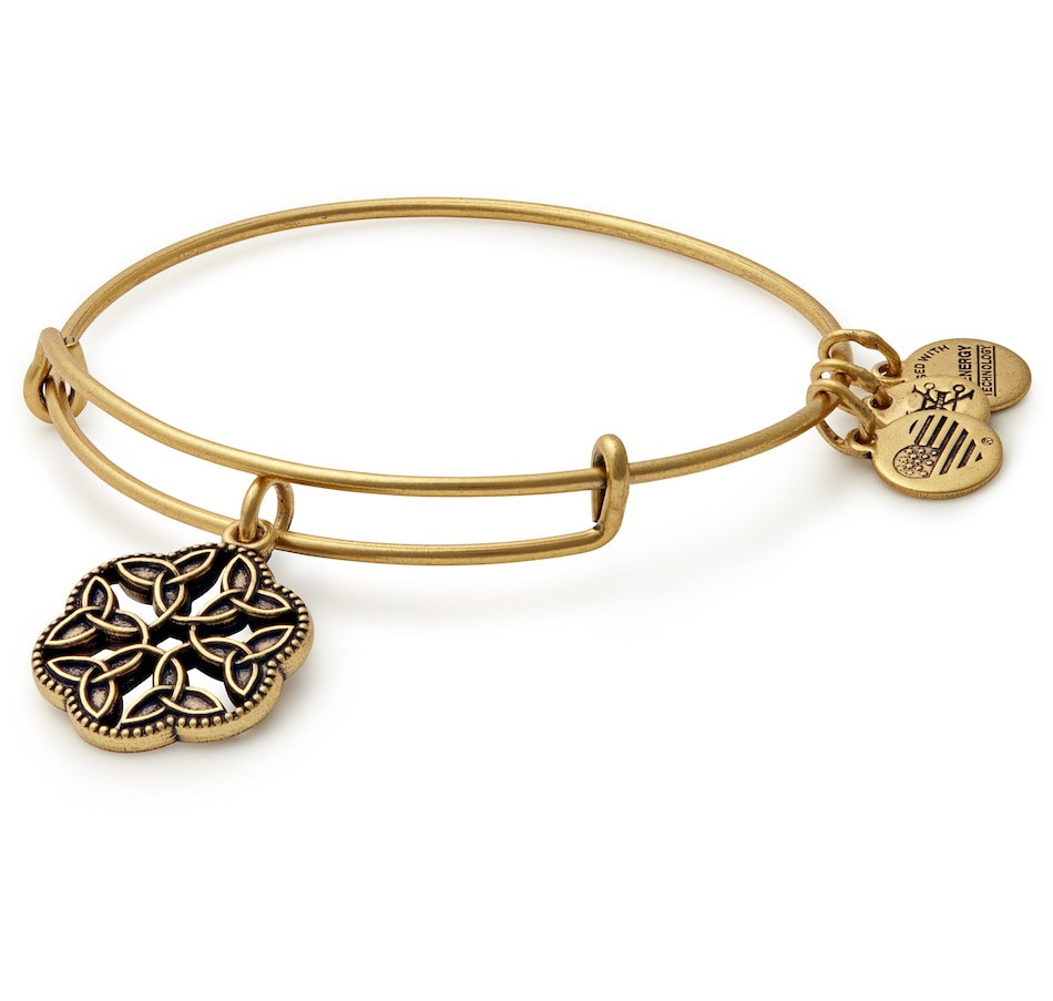 Image 498058_GLD.jpg , Product 498-058 / Price $34.00 , Alex and Ani Endless Knot Adjustable Bracelet from Alex and Ani on TSC.ca's Jewellery department