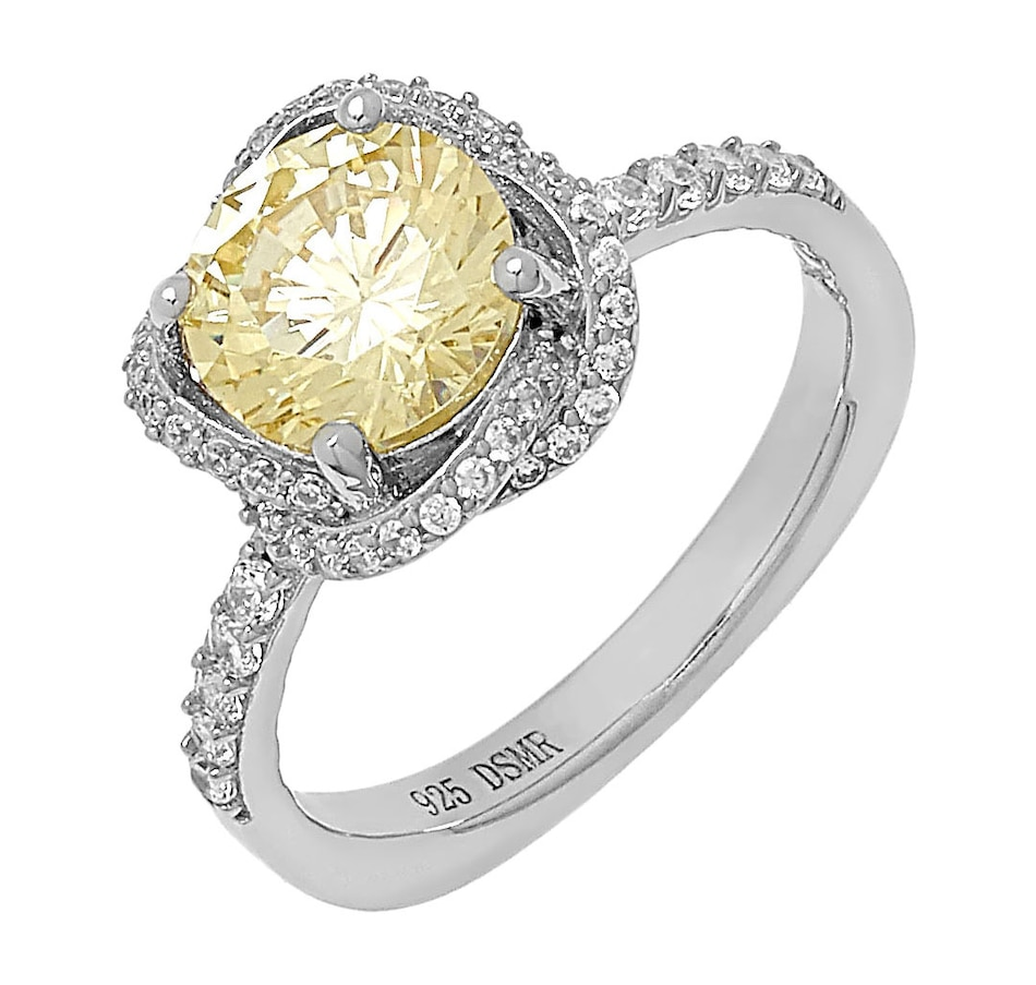 Image 498294_CAN.jpg , Product 498-294 / Price $119.99 , Deborah Freund Designs Sterling Silver Cubic Zirconia Hidden Halo Ring from Deborah Freund Designs on TSC.ca's Jewellery department