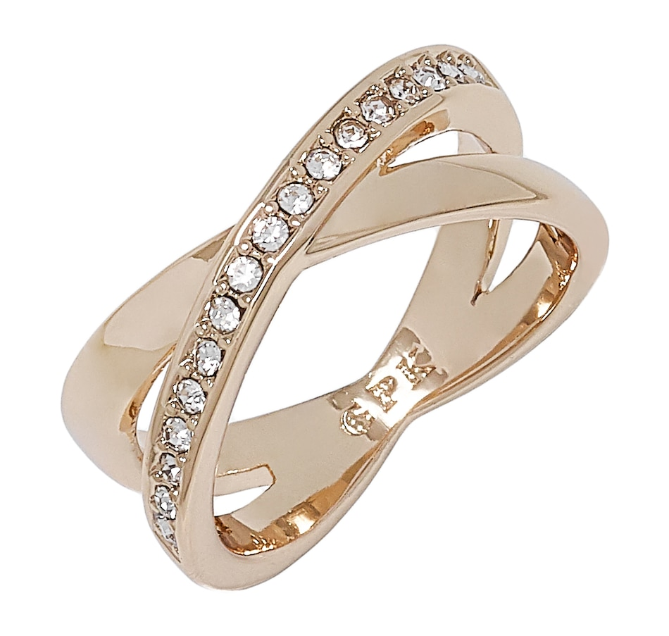 Image 498600.jpg , Product 498-600 / Price $57.00 , Grace Kelly - Princess of Monaco Collection Crossover Ring from Grace Kelly - Princess of Monaco Collection on TSC.ca's Jewellery department