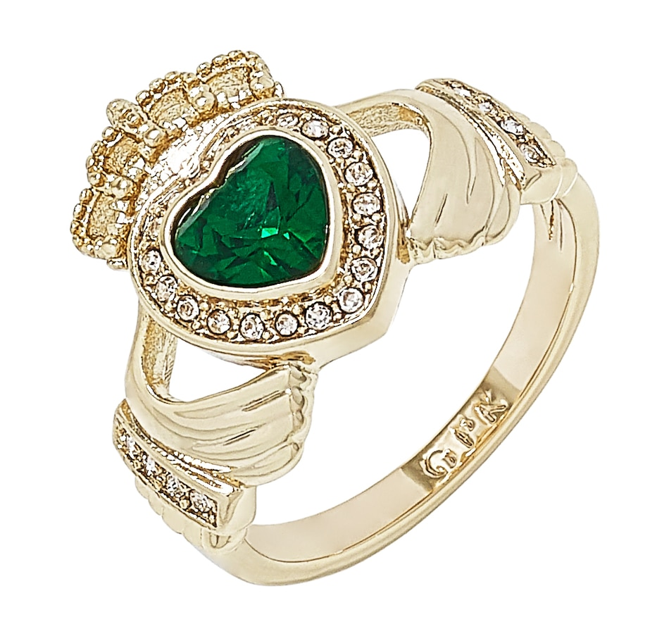 Image 498604.jpg , Product 498-604 / Price $57.00 , Grace Kelly - Princess of Monaco Collection Claddagh Ring from Grace Kelly - Princess of Monaco Collection on TSC.ca's Jewellery department