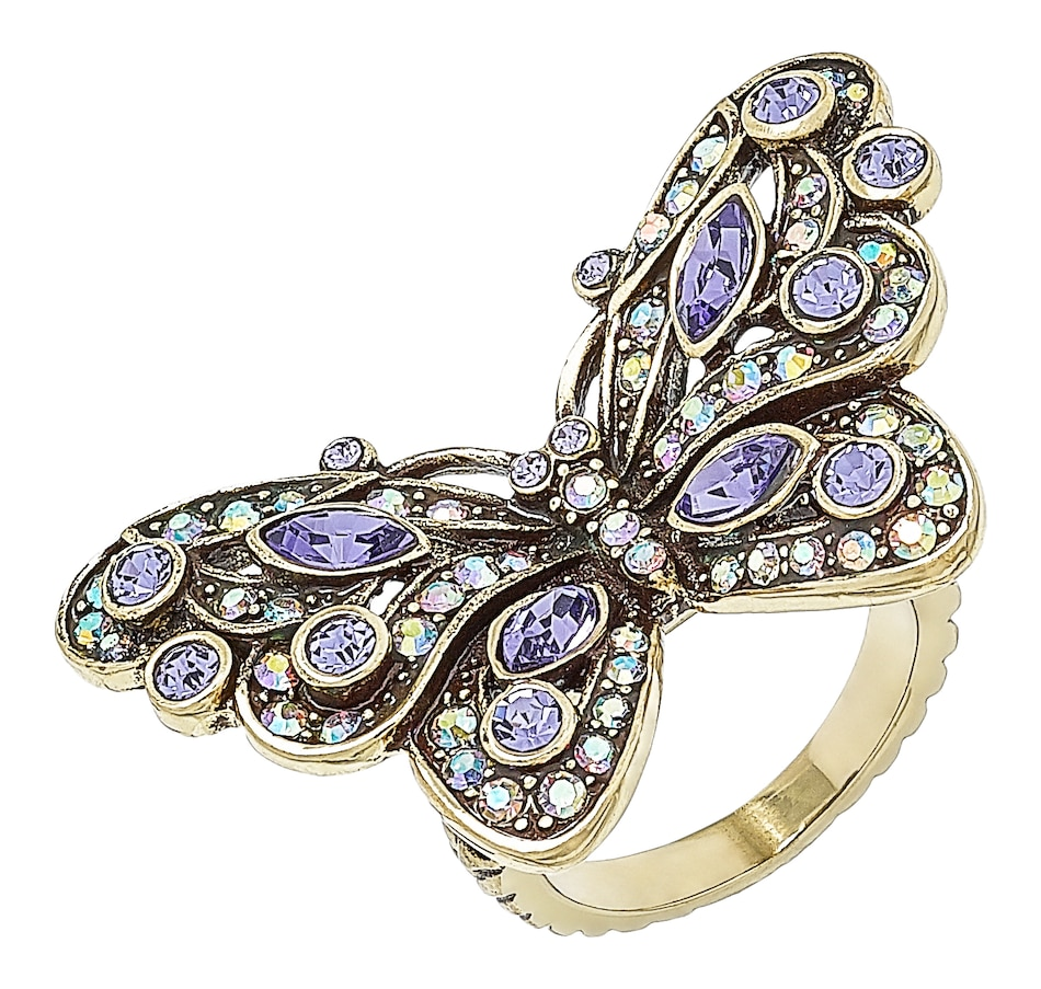 Image 498931_CRPAS.jpg , Product 498-931 / Price $99.95 , Heidi Daus Mosaic Monarch Ring from Heidi Daus Critter Collection on TSC.ca's Jewellery department