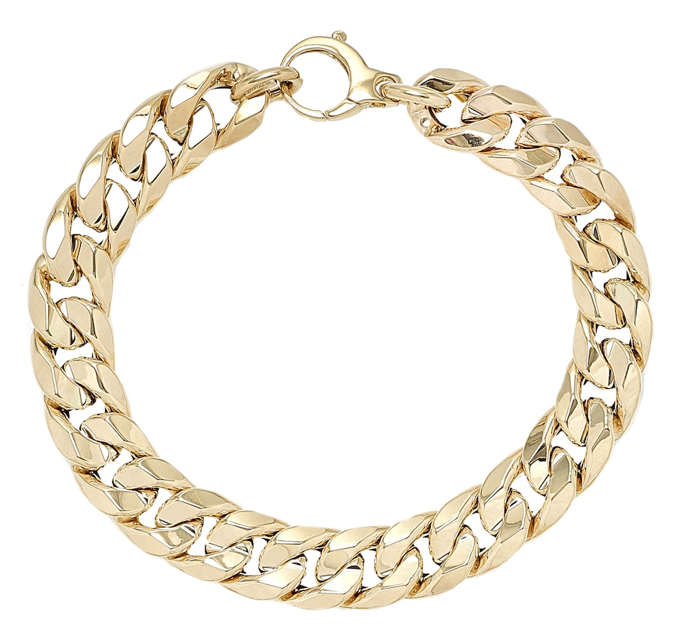 Image 499553_YGL.jpg , Product 499-553 / Price $1,286.99 , Stefano Oro 14K Yellow Gold Concave Milano Bracelet from Stefano Oro on TSC.ca's Jewellery department