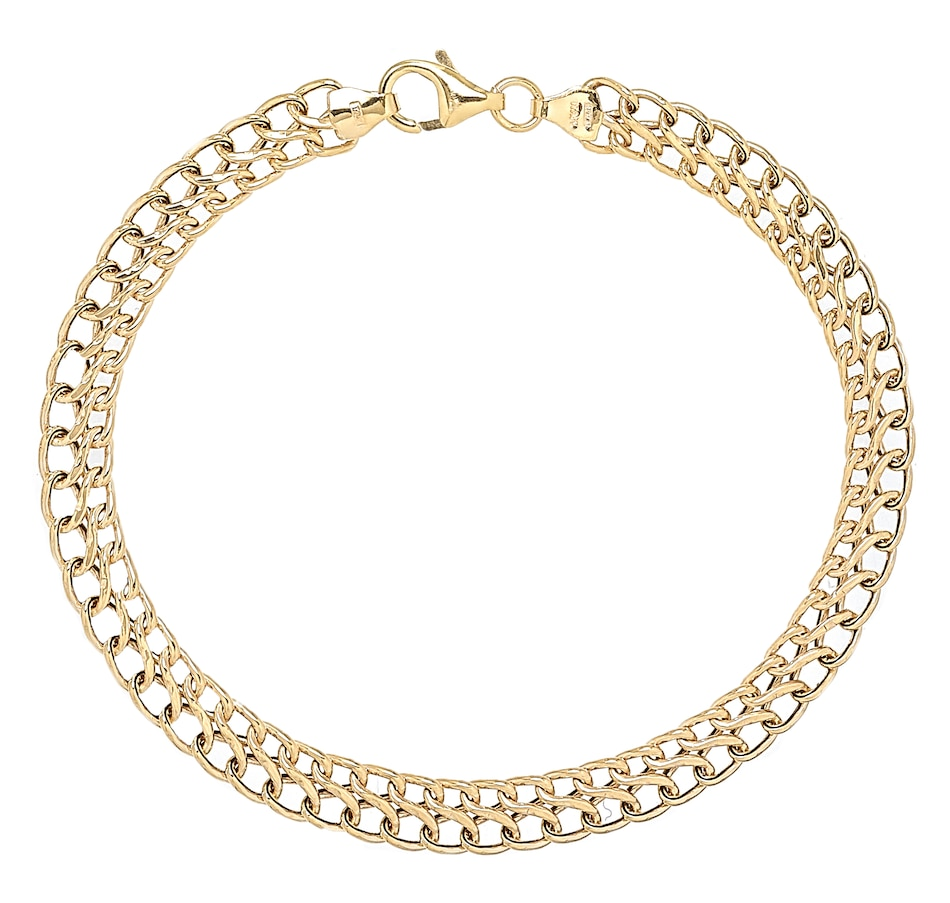 Image 499556_YGL.jpg , Product 499-556 / Price $296.99 , Stefano Oro 14K Yellow Gold Infinity Bracelet from Stefano Oro on TSC.ca's Jewellery department