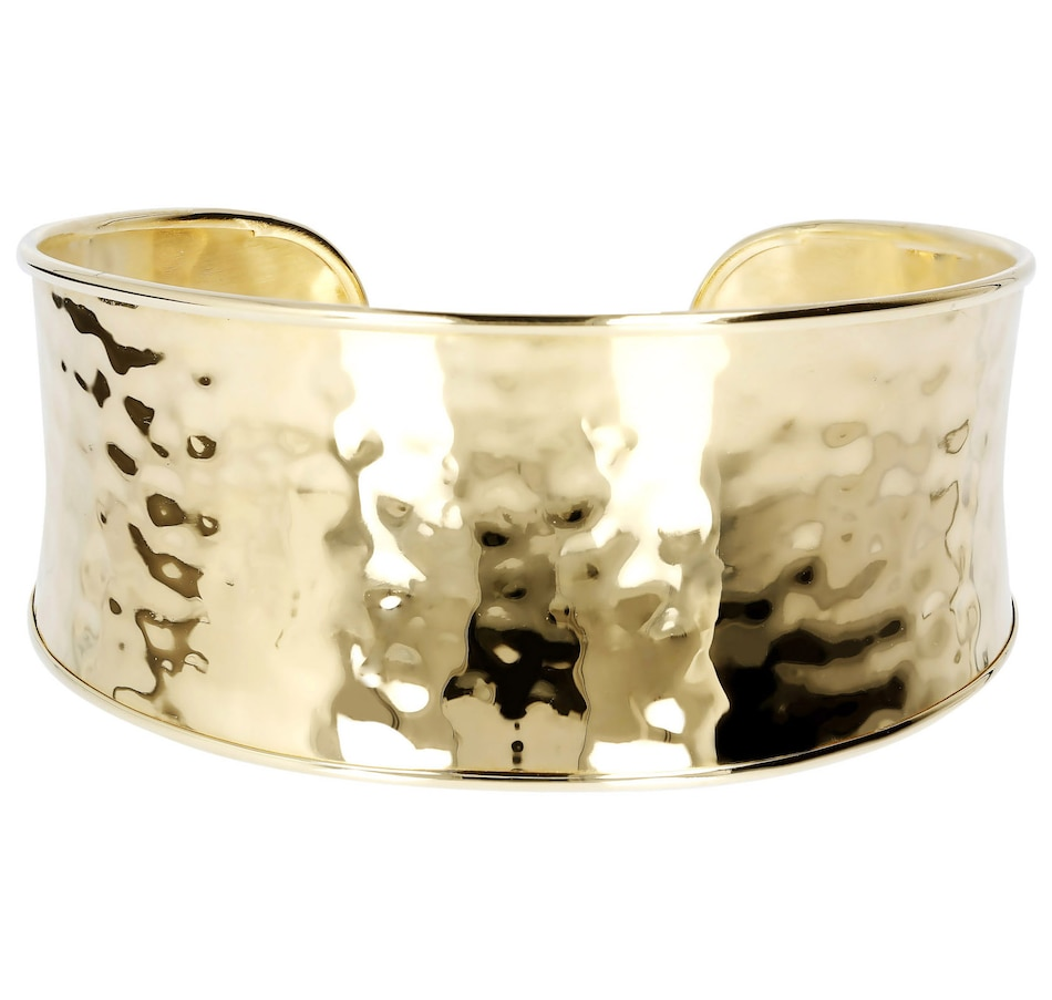 Image 500142.jpg , Product 500-142 / Price $153.00 , Etrusca Hammered Wide Band Cuff Bangle from Etrusca Jewellery on TSC.ca's Jewellery department