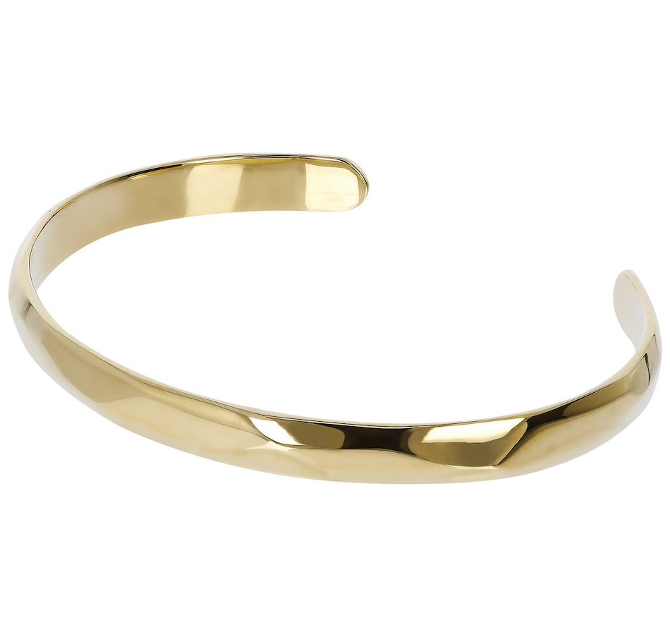 Image 500143.jpg , Product 500-143 / Price $101.00 , Etrusca Shiny Wave Finiture Cuff Bang from Etrusca Jewellery on TSC.ca's Jewellery department