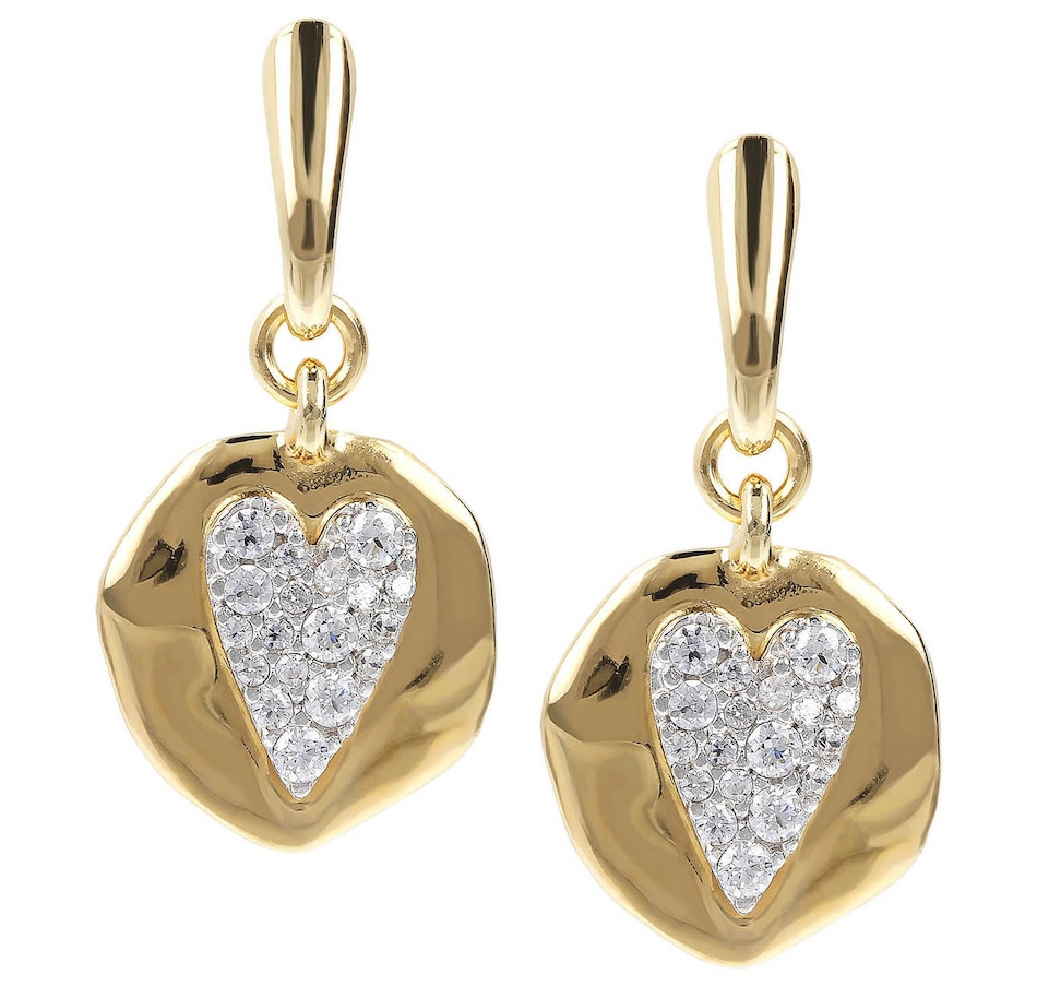 Image 500149_HEA.jpg , Product 500-149 / Price $64.99 , Etrusca Cubic Zirconia Dangle Earrings from Etrusca Jewellery on TSC.ca's Jewellery department