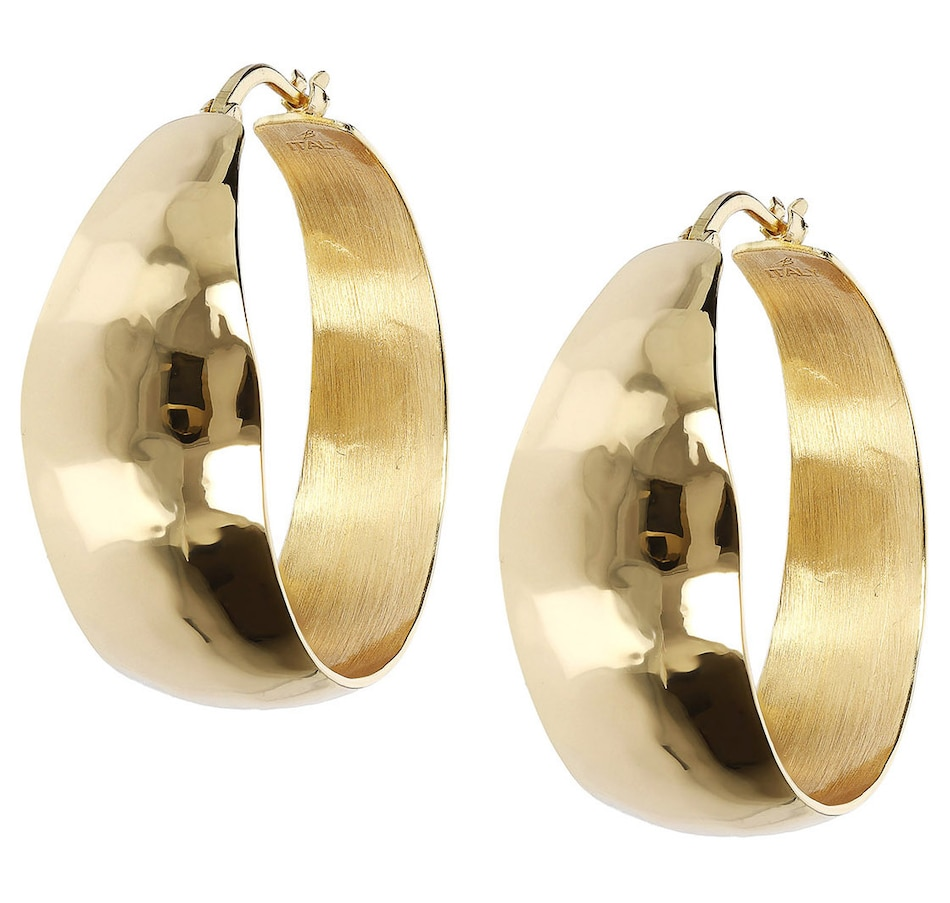 Image 500152.jpg , Product 500-152 / Price $53.99 , Etrusca Hammered Hoop Earrings from Etrusca Jewellery on TSC.ca's Jewellery department