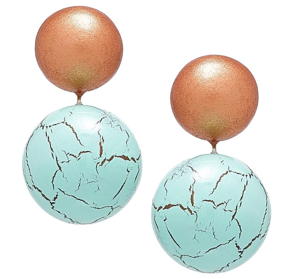 Image 501463_TGO.jpg , Product 501-463 / Price $29.33 , Zsiska Jewellery Terra 2 Beaded Drop Earrings from Zsiska on TSC.ca's Jewellery department