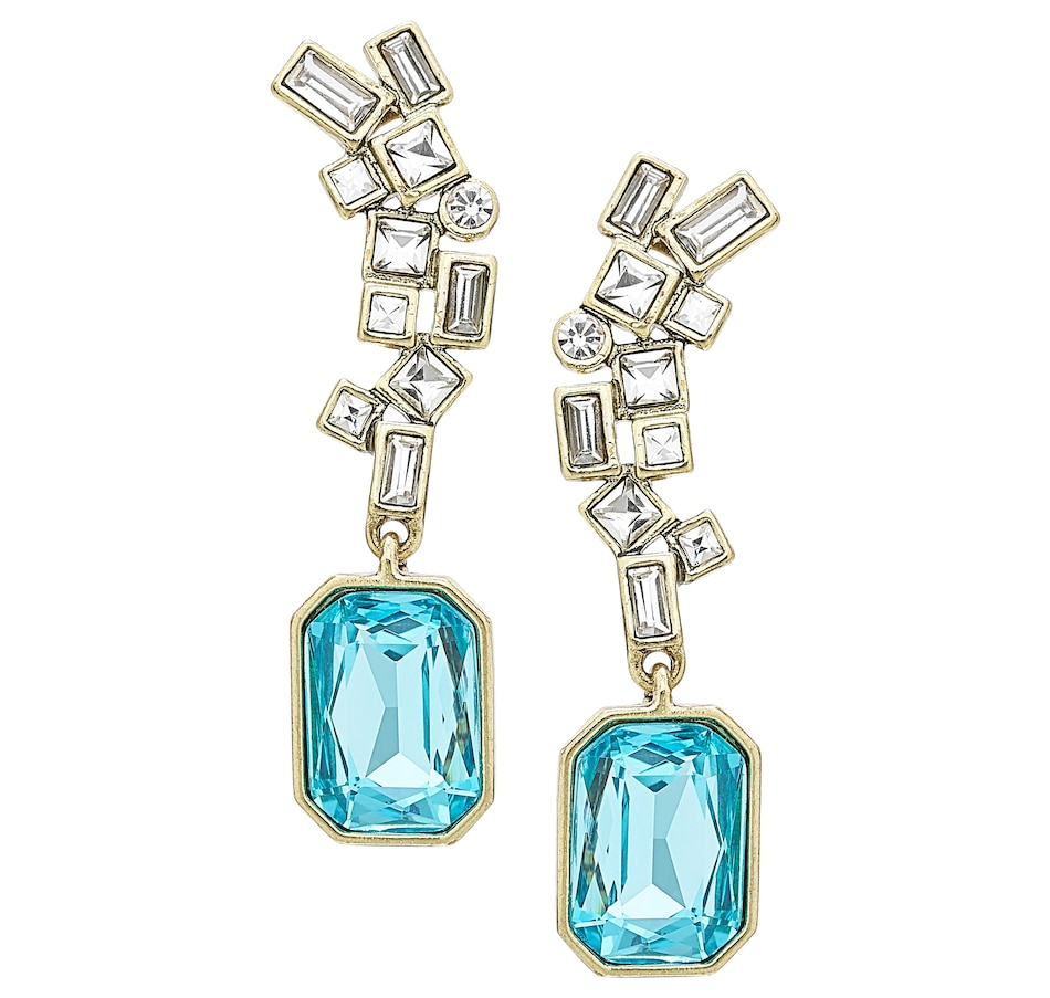Image 502257_CRY.jpg , Product 502-257 / Price $79.88 , Heidi Daus The High Life Earrings from Heidi Daus Statement Collection on TSC.ca's Jewellery department