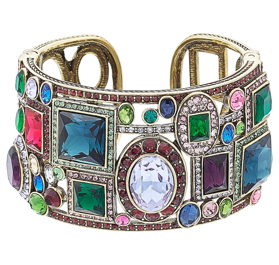Image 502262_VIMU.jpg , Product 502-262 / Price $149.88 , Heidi Daus Artful Abstract Bracelet from Heidi Daus Deco Collection on TSC.ca's Jewellery department