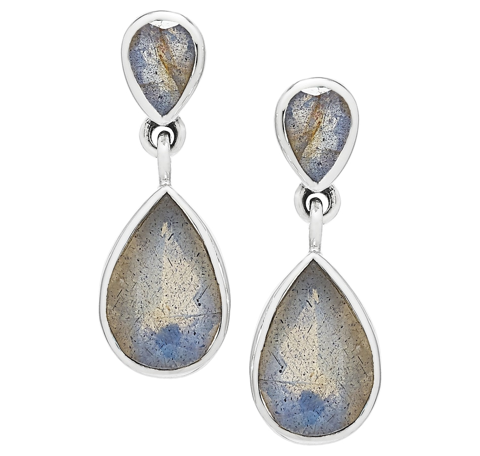Image 502768_LAE.jpg , Product 502-768 / Price $59.88 , Himalayan Gems Sterling Silver Gemstone Earrings from Himalayan Gems on TSC.ca's Jewellery department