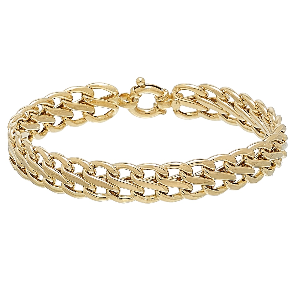 Image 502959.jpg , Product 502-959 / Price $1,299.99 , Stefano Oro 14k Yellow Gold Infinity Bracelet from Stefano Oro on TSC.ca's Jewellery department
