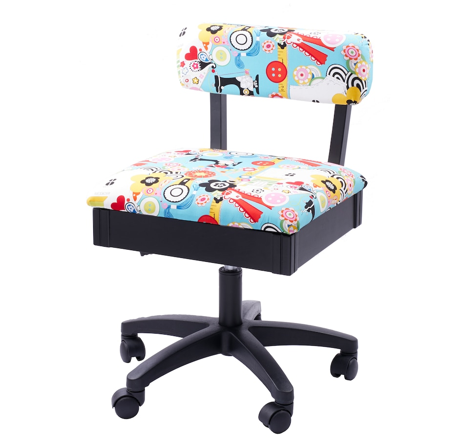 Image 505302.jpg , Product 505-302 / Price $399.99 , Janome Arrow Hydraulic Sewing Chair-Wow from Janome on TSC.ca's Home & Garden department
