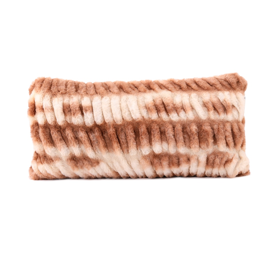 "Image 505306_TCHIN.jpg , Product 505-306 / Price $39.99 , Guillaume Faux Fur 12x24"" Throw Pillow from Guillaume on TSC.ca's Home & Garden department"